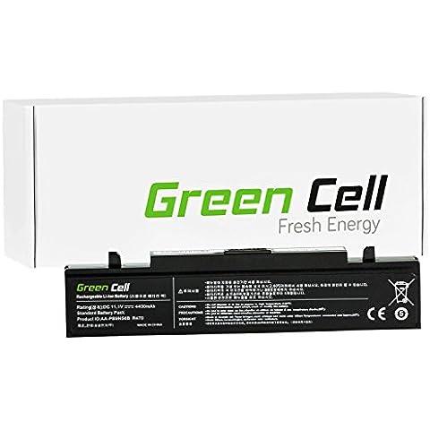 Green Cell® Portátil Batería para Samsung NP-RV511 Ordenador (4400mAh)