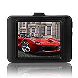 HermosaUKnight HD PRO Dash Cam con GPS 2K Super HD da 16 GB Micro SD Advanced Driver Assistance-Nero
