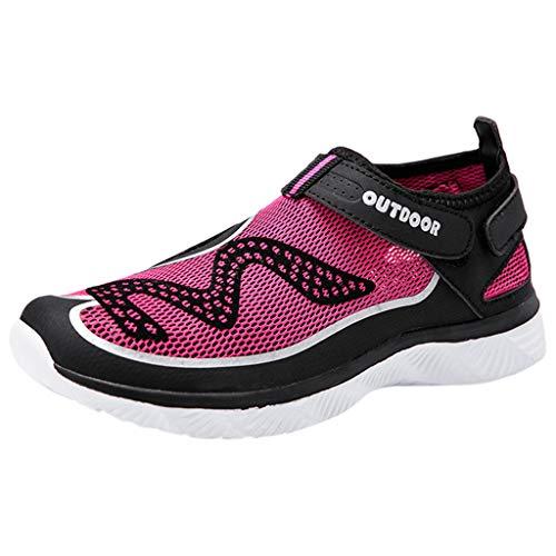 Leey Chaussures pour Femmes pour Hommes à SéChage Rapide, Pieds Nus pour La Baignade, PlongéE, Surf Aqua Sports, Piscine, Plage, Marche, Respirant, Baskets Souples