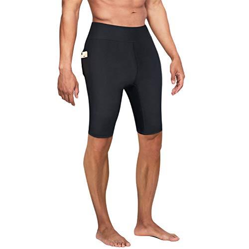 Bingrong Pantalones Cortos Adelgazar Hombre Pantalón