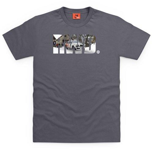 PistonHeads RWD T-Shirt, Herren Anthrazit