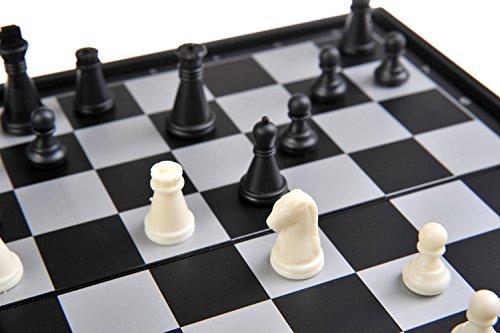 Magnetisches-Brettspiel-kompakte-Reisegre-Schach-magnetische-Spielsteine-Spielbrett-zusammenklappbar-20x20x2cm-Mod-SC5477-DE