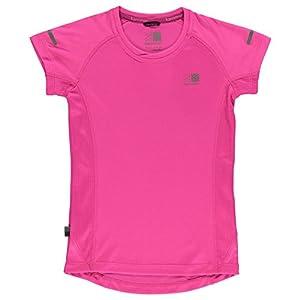 Karrimor Kinder Jungen Kurzarm Laufen T-Shirt Maedchen Jogging Sportshirt