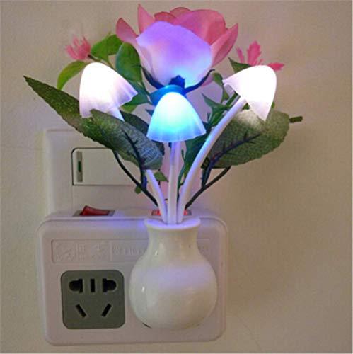Leselampe Led Small Night Light Bedroom Headlight Socket Plug-In Night Light Creative Energy-Saving Band Switch Band Night Light