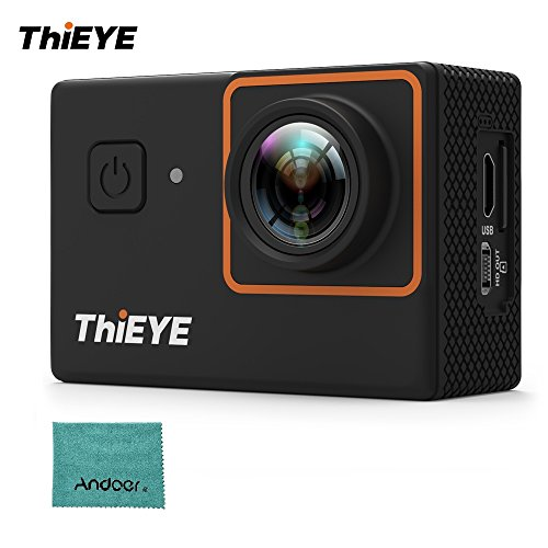Andoer thieye i30+ 4k 12mp wifi action camera 197ft waterproof sports camcorder 2.0