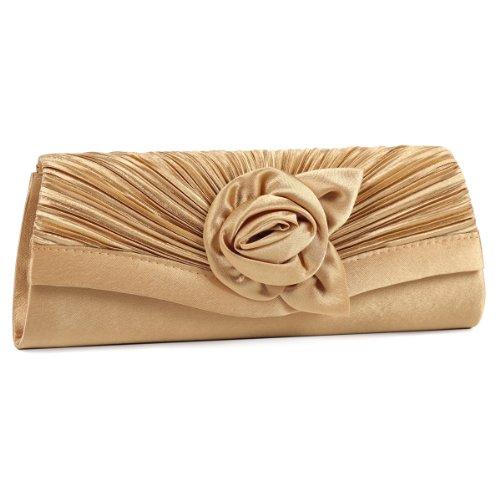 Damara, Poschette giorno donna Large Oro (oro)