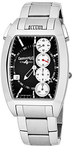 Eberhard & Co Homme Bracelet Acier Inoxydable Automatique Montre 31047.9