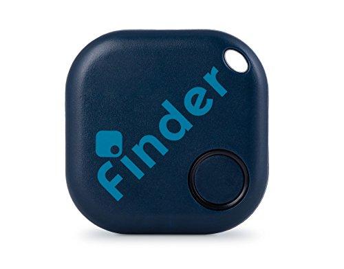 musegear® Schlüsselfinder mit Bluetooth App I Keyfinder laut für Handy in dunkelblau I GPS Ortung/Kopplung I Schlüssel Finden