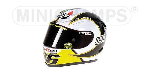 2006 Casco AGV Valentino Rossi Moto GP Minichamps 327060046 1:2