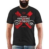 Männer und Herren T-Shirt Biker Zahnfee (mit Rückendruck) Größe S - 8XL
