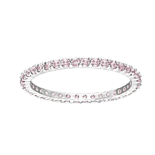 Swarovski Anello da donna rodiato rosa - 5184, base metal, 52 (16.6), cod. 5184258