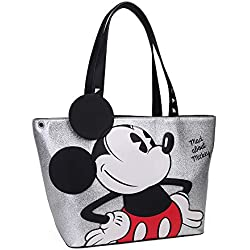 Mickey Mad About, 41 cm, 4 litros, Gris