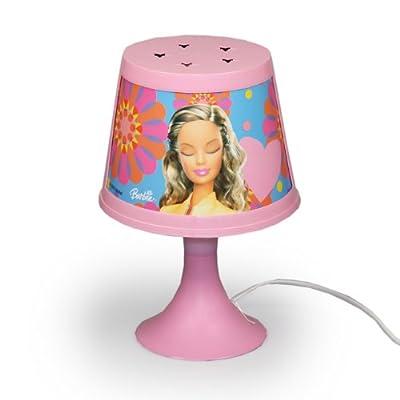 Mattel BARBIE Lampe Kinderzimmer (A) Nachttischlampe Nachtlicht Tischlampe Kinder Kinderzimmer Beleuchtung von Mattel bei Lampenhans.de