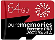 64GB Micro SD Card, 4K UHD Game Turbo, Nintendo Switch Compatible, Read/Write 100/80 MB/s, A2 App Performance,