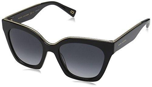 Marc Jacobs Damen MARC 162/S 9O 807 52 Sonnenbrille, Schwarz (Black/Dark Grey Sf),