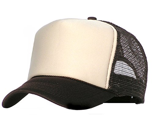Bastart casquette filet marron-kaki