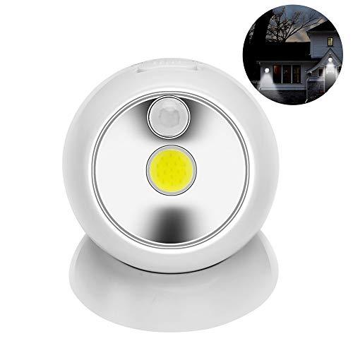 PoJu LED Home Nachtlicht COB Sensor Licht Korridor Schlafzimmer Garage Notlicht für Korridore, Schränke, Treppen, Schlafzimmer, Badezimmer, Küchen, Schubladen, Kinderzimmer, Camping -