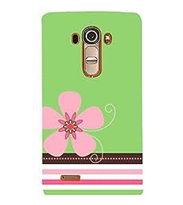 Pink Flower 3D Hard Polycarbonate Designer Back Case Cover for LG G4 :: LG G4 Dual LTE :: LG G4 H818P H818N :: LG G4 H815 H815TR H815T H815P H812 H810 H811 LS991 VS986 US991