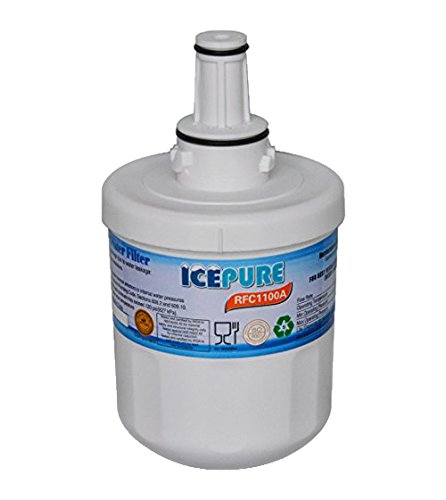 IcePure RFC1100A Water Filter Replacement Cartridge for Samsung, Kenmore by IcePure (Filter Kenmore Kühlschrank)