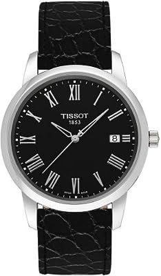 Tissot Classic Dream T0334101605300 - Reloj de caballero de cuarzo, correa de piel, color negro