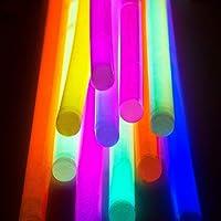 BBM 100 Varitas Luminosas Pulseras Luminosas Para Fiestas Formar Pulseras, Collares, Pendientes, Gafas e Incluso Flores Entretenido Para Niños de BBM