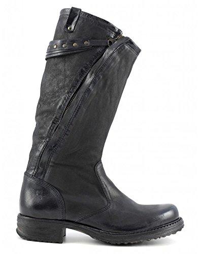 CAFèNOIR N/A Damen Biker Boots Schwarz (NERO 010)