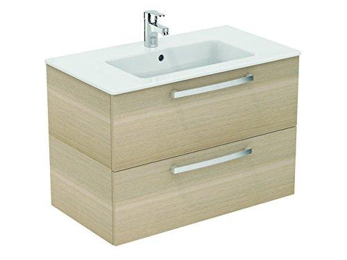 Ideal Standard Waschtisch Tempo 80cm mit Schubladen Weiß (e3242wg)