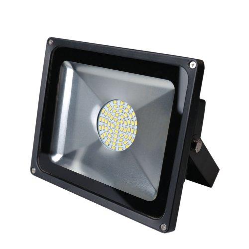 20W 30W 50W 80W Lumière crue de LED blanc chaud Projecteur Lampe extérieure Lampe de jardin IP65(50W)