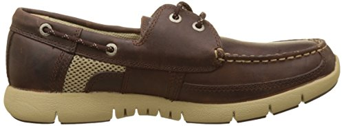 Sebago Herren Kinsley Two Eye Bootschuhe Braun (Dk Brown Leather)