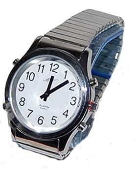 MV ma-hsm–Armbanduhr Unisex, Armband in Edelstahl
