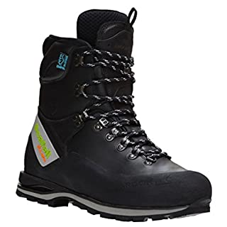Arbortec Scafell Lite leather chainsaw boots (black) (class 2) (43)