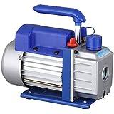 OUKANING Bomba de vacío de baja presión 1/4HP 50Hz 2,5 CFM solo nivel Climatizacion Refrigeracion Rotary refrigeración bomba de vacío 180W