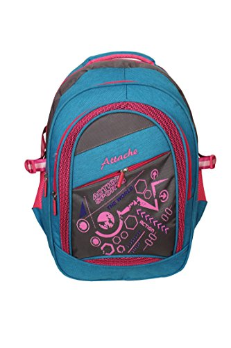 Attache Sporty School Bag (Blue & Pink)  available at amazon for Rs.999