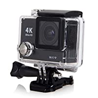 H2 4K Ultra HD Wi-Fi Remote Control Action Camera Gopro-Style 12.0MP 170° Wide Angle HDMI Waterproof