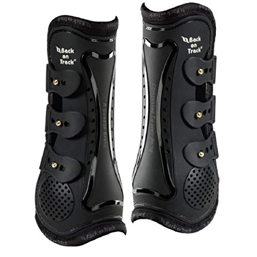 Back on Track Welltex® Royal Tendon Boots Arbeitsgamaschen schwarz Cob/VB
