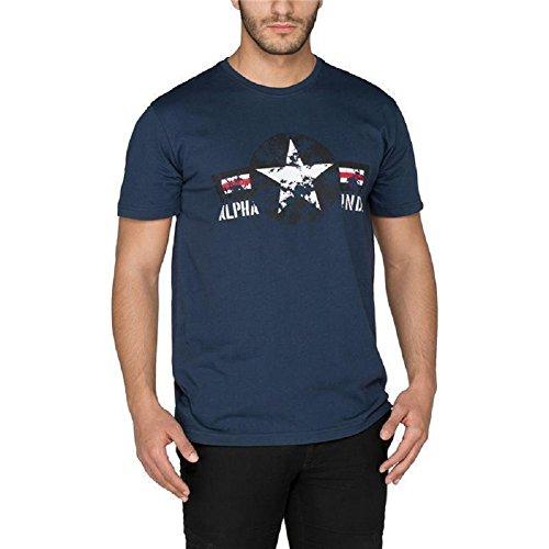 Alpha Industries USAF T-Shirt Rep Blue