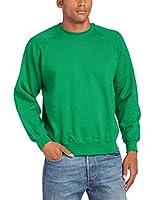 Fruit of the Loom Herren, Sweatshirt, Raglan Sweatshirt