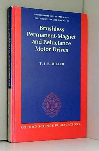 Brushless Permanent-Magnet and Reluctance Motor Drives (MONOGRAPHS IN ELECTRICAL AND ELECTRONIC ENGINEERING, Band 21) - Direct-drive-band
