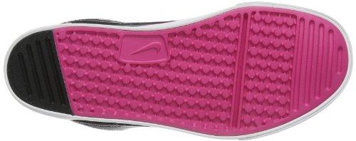 Nike  Capri 3 LTR, basket fille Gris - Grau (Cool Grey/Black-Vivid Pink-Wolf Grey)