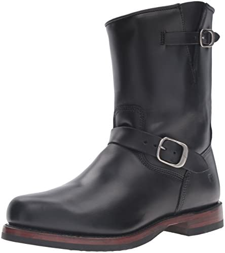 Bota de hombre John Addison Engineer, negro, 11.5 D US