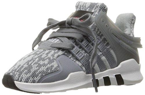adidas Originals Boys' EQT Support ADV I Sneaker, Grey/Tech Grey/White, 6 M US Toddler (Toddler Adidas Sneaker)