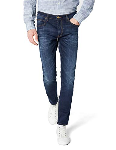 Lee Luke Jeans Tapered Uomo Blu W36/L32