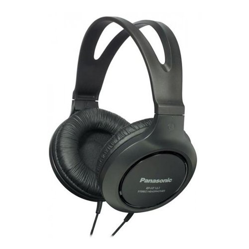 Panasonic RP-HT161E-K Casque Traditionnel Filaire