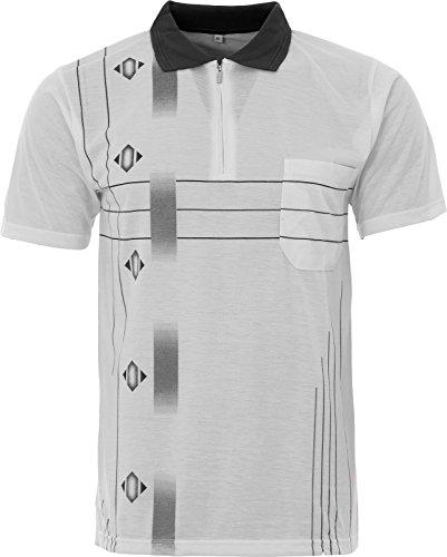 Be Lucky Herren Poloshirt Medium Weiß