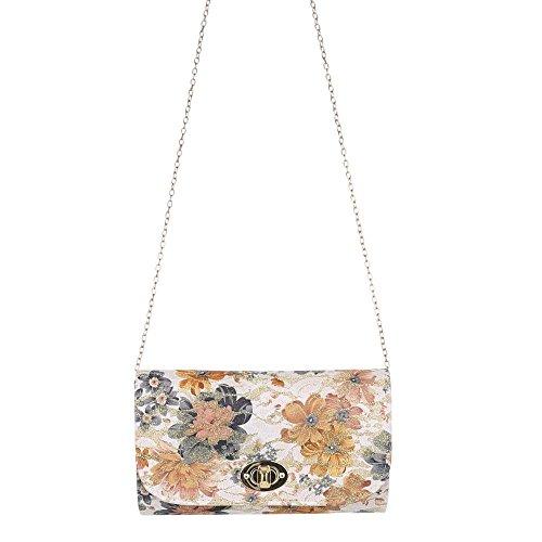 Ital-DesignClutch-tasche Bei Ital-design - Clutch Donna marrone/beige