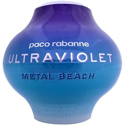 Ultraviolet For Women by Paco Rabanne (Metal Beach) EDT Spray 80ml by Paco Rabanne - 80 Di Metal