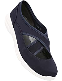 Tresmode Women's Blue Synthetic Shoes (202223188)- 4 UK