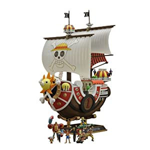 Bandai Hobby Thousand Sunny Model Ship One Piece New World Version 9