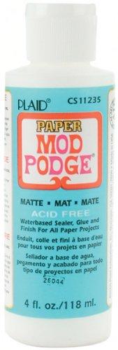 Mod Podge mat papier, Multicolore, 4 oz