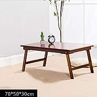 Massivholz Klappbett Tisch Freizeit Einfachen Nachmittagstee Sofa Kleinen Tisch Lernen Computertisch (größe : 70 * 50 * 30cm)